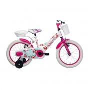 """Adriatica dječji bicikl ženski 16"""" bijeli"""