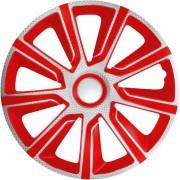 Dísztárcsa (13) Veron Carbon Red 4db-os garnitúra