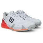 Wilson Rush Pro 2.5 Ac Tennis Shoe For Men(Red, Grey)