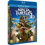 Teenage Mutant Ninja Turtles BluRay Combo 3D+2D 2014