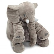 Naturally Nature Stuffed Plush Elephant Toy, Stuffed Elephant, 24 inches