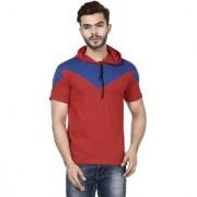 Demokrazy men's Royal Red kappa T-shirt