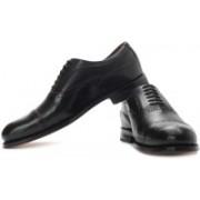 Clarks Black Check Cap Party Wear Shoes For Men(Black)