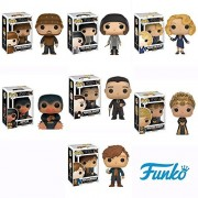 Fantastic Beasts Fantastic Beasts and Where to Find Them Vinyl Figures, Set of 7 (Newt Scamander, Tina Goldstein, Queenie Goldstein, Jacob Kowalski, Seraphina Picquery, Percival Graves and Niffler)