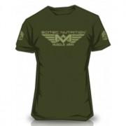 Camiseta Muscle Army Woodland