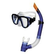 CORAL JUNIOR Sada brýle+šnorchl modrá Spokey
