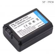 Np-fw50 np fw50 camera batterij voor sony a5000 a5100 a7r nex 6 7 5TL 5R 5N 3Nl A6000 5 T 5C 3N A7 NEX6 NEX7 NEX5TL NEX5R NEX5N