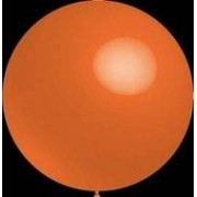 ballonnenparade Decoratieballonnen oranje 30 cm pastel professionele kwaliteit