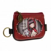 Kulcstartós pénztárca- Gorjuss- Little Red Riding Hood