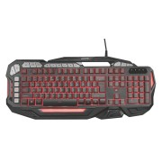 Trust GXT 285 GADA Геймърска клавиатура с подсветка