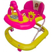 Oh Baby Baby Adjustable Musical With Light Square Tweety Play Tray Shape Pink Color Walker For Your Kid SE-W-95