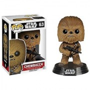 Funko POP! Star Wars: Episode Vii - Chewbacca #63 Vinyl Bobble-Head NEW