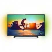 Телевизор Philips 55 инча, Smart TV, Ultra HD, DVB-T2,C,S2, Ambiligt 2, 55PUS6262/12