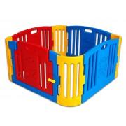 Plastová detská rychloskládací ohrádka s dvierkami na kľučku (dět)