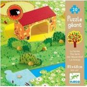 DJECO Puzzle Farma - zwierzęta na wsi DJ07160 20 el., 3 lata +, DJ07160