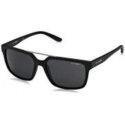 Arnette AN4231 Petrolhead anteojos de sol cuadradas para hombre, mate, negro, gris (Matte Black/Grey), 57 mm