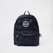 Hype Mens Hype Black camo backpack (One Size)