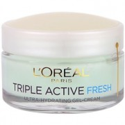 L'Oréal Paris Triple Active Fresh gel-crema para pieles normales y mixtas 50 ml