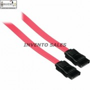 Invento 10 Pcs Straight SATA computer cable Hard-disk Cable with No Locking Latch