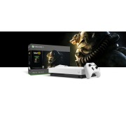 Xbox One X Robot White Special Edition 1 TB-console - Fallout 76-bundel