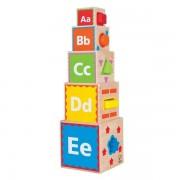 Hape Pyramide de Cubes & Formes - Jouets Bio Hape