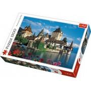Puzzle clasic - Castelul Oberhofen Elvetia 1500 piese