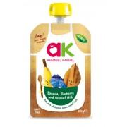 Annabel Karmel Kókusztejes bio almás-banánpüré áfonyával 100 g