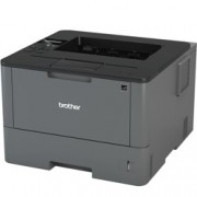 Лазерен принтер Brother HL-L5000D, монохромен, 1200x1200 dpi, 40стр/мин, двустранен печат, USB, A4, 2+1 г.