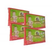 Pañales Desechables Baby Safary 6-10KG Economicos 160 pz