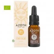 Azoth Bio CBD olie 3% - 10ml