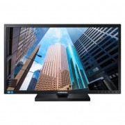 "Samsung S24E450B - SE450 Series - monitor LED - 24"" - 1920 x 1080 Full HD (1080p) - TN - 250 cd/m² - 1000:1 - 5 ms - DVI, VGA -"