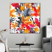 Tablou Canvas Toamna Abstracta FRZ15 (Optiuni Tablou: 50x50cm)