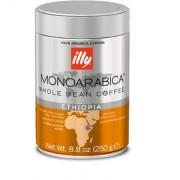Cafea boabe Illy Monoarabica Ethiopia, 250g