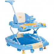 Baby Walker (Blue) with rocker and more