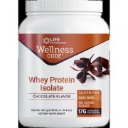 Wellness Code® Whey Protein Isolate , Chocolate, 437 grams