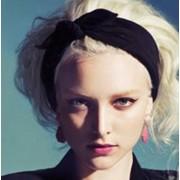AliExpress Goedkope nieuwe oor katoen winter hoofdband voor vrouw en meisje haar mode tulband hoofdband voor meisje headwrap top knoop haarband 1 st