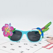 ELECTROPRIME® Hawaiian Tropical Floral Bird Sunglasses Fancy Dress Party Glasses Accessory