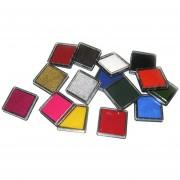 Sellos Coloridos Inkpad Sellado Sello De Decoración, Color Al Azar