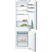 Combina frigorifica incorporabila Bosch KIV 86KF30, 267 L , A++ , Alb , 4 rafturi