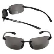 Mass Vision Lovin Maui anteojos de sol polarizadas para hombre y mujer, 2 pares de anteojos de sol polarizadas, No polarizado, color negro, M