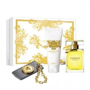 Versace Vanitas Coffret Eau De Toilette 100 Ml + Body Lotion 100 Ml + Key Chain (8011003832514)