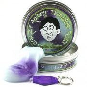 Crazy Aarons Thinking Putty 10cm Large Tin UV Reactive Phantom Mystic Glacier by crazy aaron's thinking putty