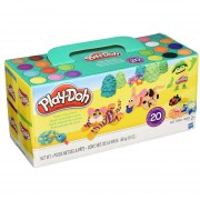 Set de 20 Masas moldeables Play Doh-Multicolor