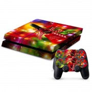 Kerstmis series Stickers voor PS4 Game Console