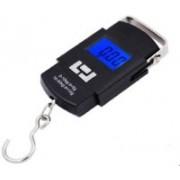 PreeX 50Kg Portable Luggage Hanging Weight Machine Digital Weighing Scale(Black)