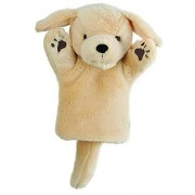 The Puppet Company - CarPets Glove Puppets - Labrador (Yellow)