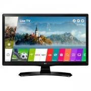 Монитор LG 24MT49S-PZ, 23.6 инча VA, LED non Glare, Smart webOS, 1000:1, 5000000:1 DFC, 250cd, 1366x768, HDMI, CI Slot, TV Tuner DVB-T2/C/S2, DVR read