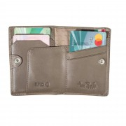 Tony Perotti Slim Wallet Minigeldbörse ohne Münzfach Tony Perotti Vegetale RFIDTaupe