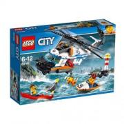 Set de constructie LEGO City Elicopter de salvare pentru conditii grele