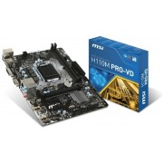 MSI H110M PRO-VD LGA 1151 (Socket H4) Intel® H110 Mini ATX